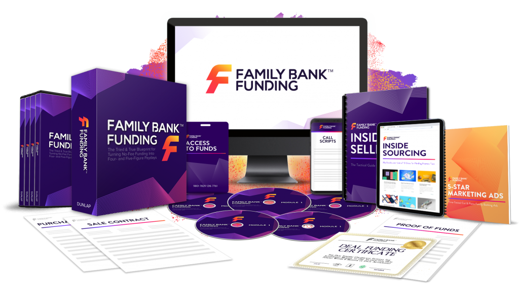 Family Bank Funding by Cameron Dunlap